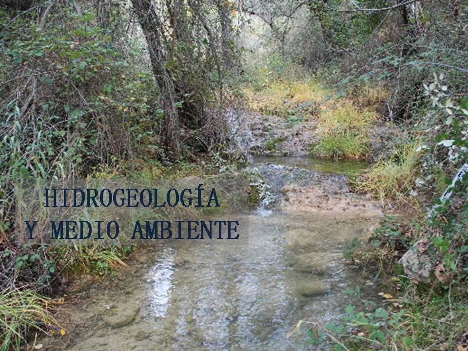 Hidrogeología y Medio Ambiente